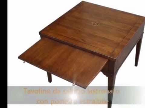 tavolino tavolini da salotto classici in stile antico con intarsi ... - Soggiorno Stile Antico 2