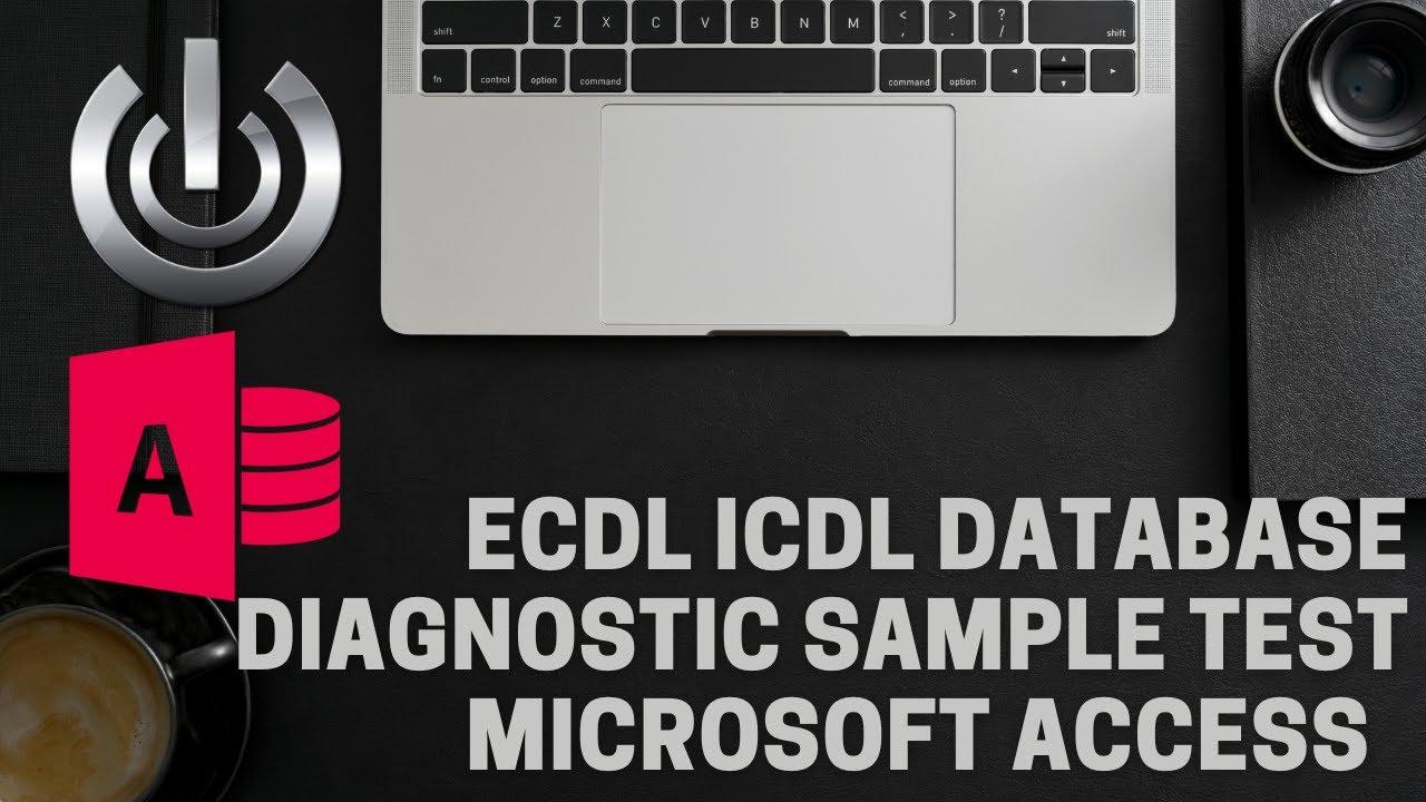 Ecdl intermediate prep test access 2016-2013-2010-2007-2003.