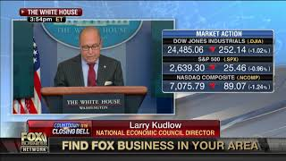 US economy is 'very strong': Larry Kudlow
