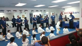 Ethan karate exam(4)