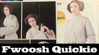 Quickie! S.H. Figuarts Princess Leia from Star Wars: A New Hope Bandai