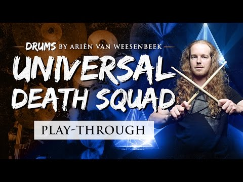 EPICA – Universal Death Squad – Drum Playthrough by Ariën van Weesenbeek
