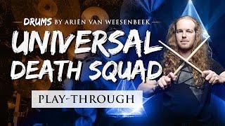 EPICA – Universal Death Squad – Drum Playthrough by Ariën van Weesenbeek