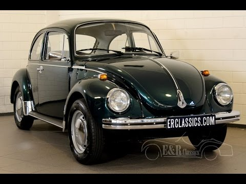Volkswagen Beetle 1972 fully restored perfect condition as new -VIDEO- www.ERclassics.com