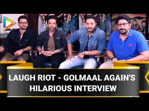 Arshad Warsi | Tusshar Kapoor | Shreyas Talpade | Kunal Khemu | Golmaal Again | Full Interview