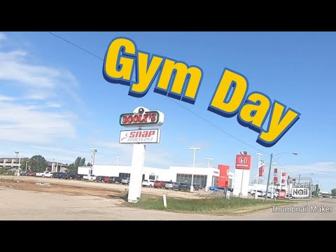 Gym day at Snap Fitness Moosejaw