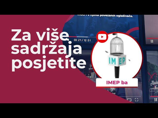 IMEP teaser -  tutorijali: Gender Aspekt i Pravna zaštita novinara i novinarki