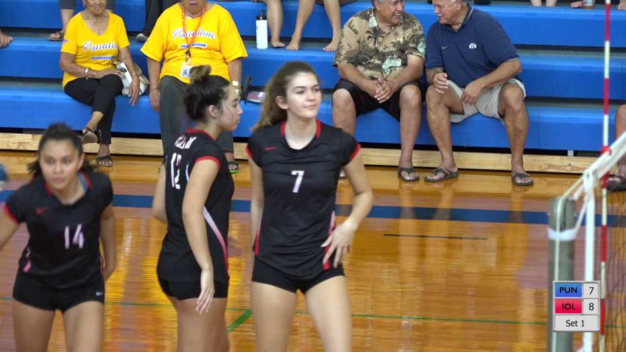 Download 2018-2019 Girls Varsity Volleyball: Punahou vs Iolani (September 22, 2018)