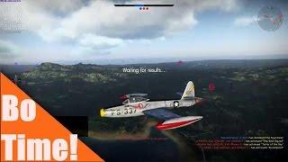 "War Thunder - F84B Thunderjet ""Sometimes it is better to be lucky than good"""