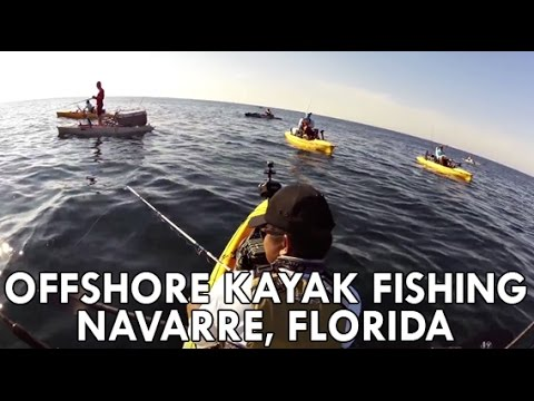 Offshore Kayak Fishing Navarre, Florida
