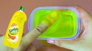 Amazing!! Clear Slime with Water and Dishsoap, MUST TRY ! , No Borax Recipe