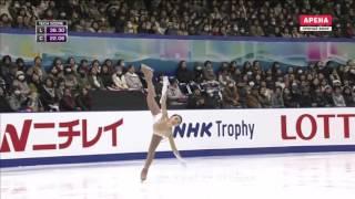 Karen Chen SP 2016 NHK Trophy
