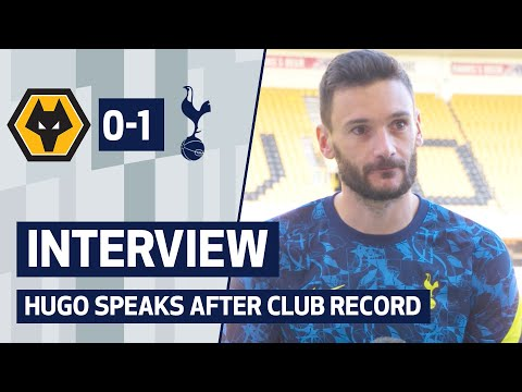 Hugo speaks after breaking club record in Molineux    After the game: Wolves 0-1 Spurs