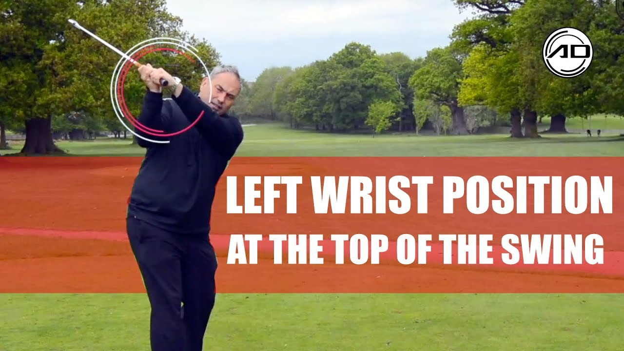 how to set wrists in backswing
