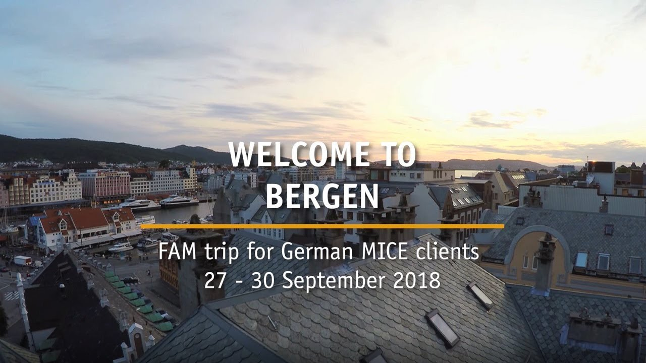 Thumbnail: Bergen FAM Trip for MICE clients 27 - 30 September 2018
