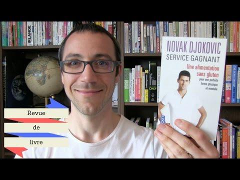 Revue de livre : Novak Djokovic / Service gagnant