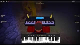 Thème de Quiet - Metal Gear Solid 5 par: Akihiro Honda sur un piano ROBLOX.