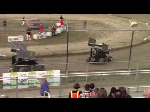 Mt. Baker Academics & Athletics night #2. - dirt track racing video image