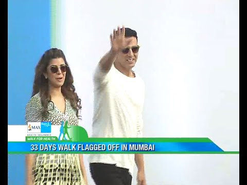 Walk For Health 2016 - Mumbai Flag Off