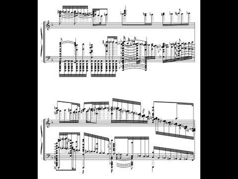 Flandre's Theme, higher definition music score