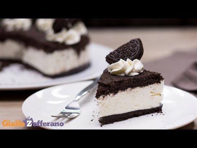 Ricetta Cheesecake Oreo Giallo Zafferano.Torta Oreo Ricetta In 1 Minuto Youtube