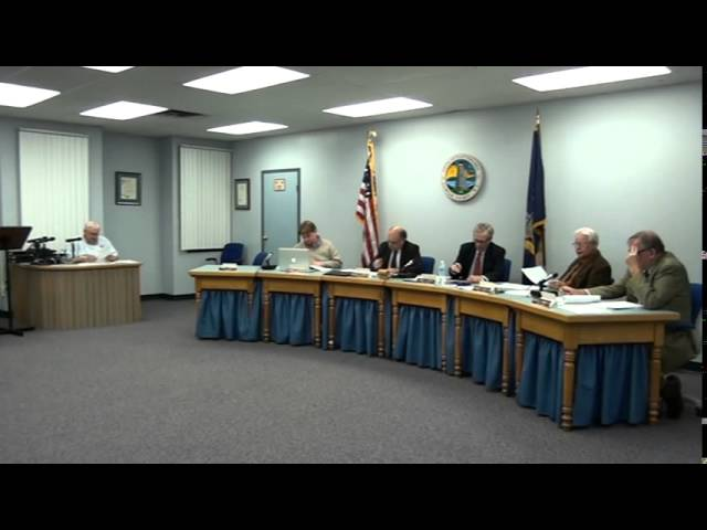October 20, 2014 Town Meeting