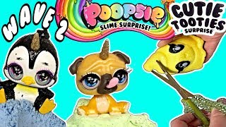 Poopsie Slime Surprise CUTIE TOOTIES Wave 2!  Squishies & Slimes! Unicorn Poop Squishy Slime Toys!