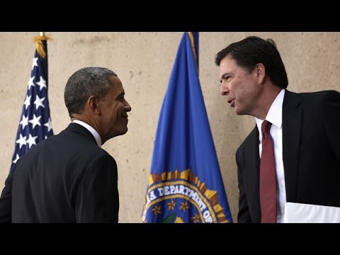 Barack Obama welcomes new FBI director James Comey