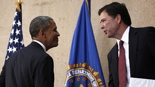 Barack Obama welcomes new FBI director James Comey