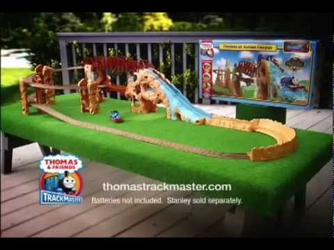 Thomas And Friends Trackmaster Action Canyon Youtube
