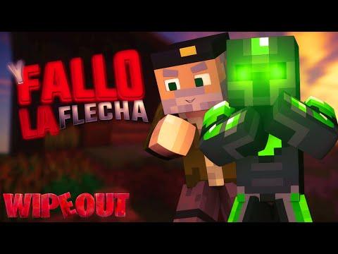 Y FALLO LA FLECHA!! - Carrera de WipeOut - Willyrex Y sTaXx - MINECRAFT