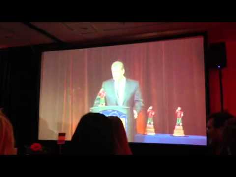 Geaghan's Pub at Bangor Region Chamber of Commerce awards