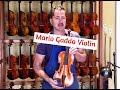 Mario Gadda Italian Violin For Sale   Ansaldo Poggi Model