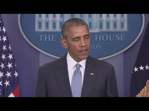 President Obama speaks about Baton Rouge shooting from the White House