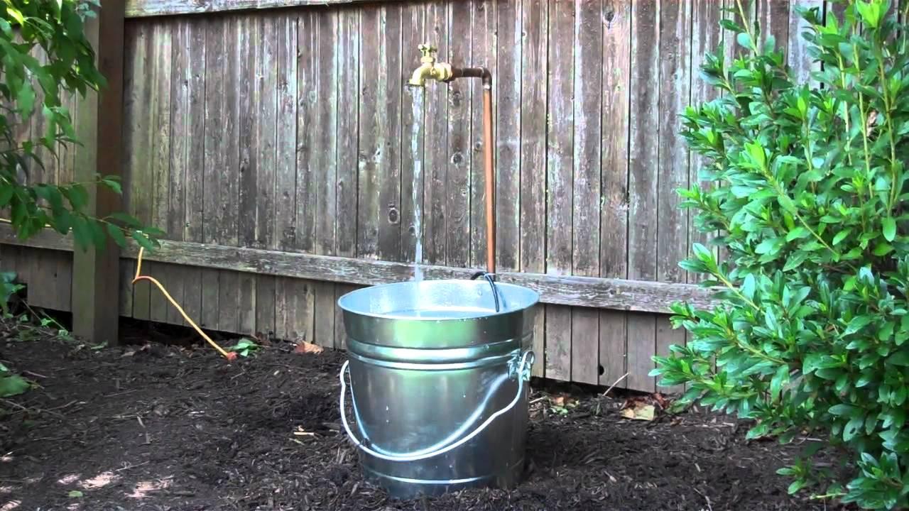 diy garden fountain DIY Garden Fountain - YouTube