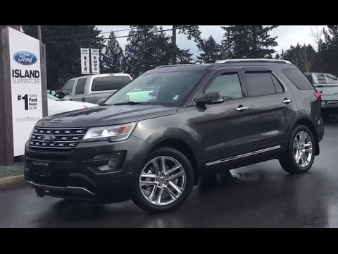 2017 ford explorer limited v6 4wd navigation review island ford youtube. Cars Review. Best American Auto & Cars Review