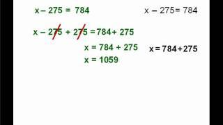 1. Ecuaciones  x + a = b.WMV