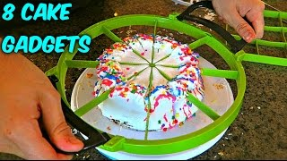 8 Cake Cutting Gadgets put to the TEST thumbnail