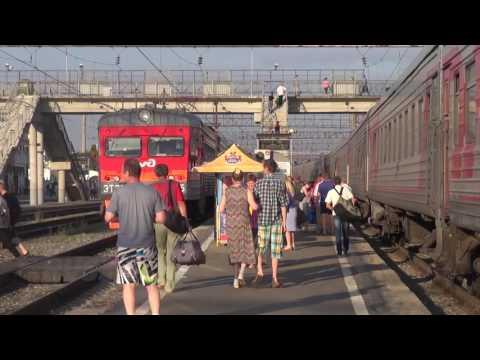 На поезде Красноярск Москва