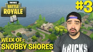 Fortnite Battle Royale Week of Snobby Shores #3 | Ride Along (Tips and Tricks)