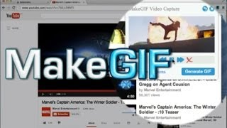 How to Make Animated Gifs (Chrome Extension MakeGIF)