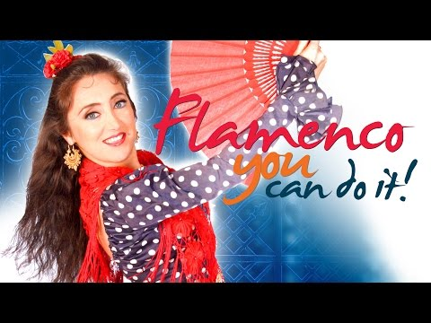 """Flamenco: You Can Do It! - Sevillanas & Fan Dance instant video/DVD with Puela Lunaris"