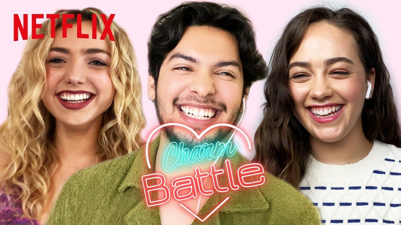 Who Is the Biggest Flirt in the Cobra Kai Cast? | Charm Battle | Netflix