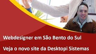 Lançamento do Novo Site da Desktopi Sistemas e Automação - Webdesigner de São Bento do Sul