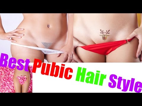 Pubic Hair Styles for Women and men | Best Genital Hair Design For Women and men.