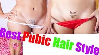 Genitals style Shaved girls
