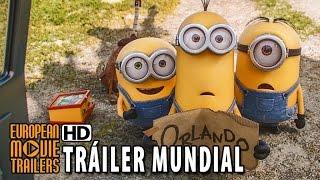 LOS MINIONS Tráiler Mundial #2 en español (2015) HD