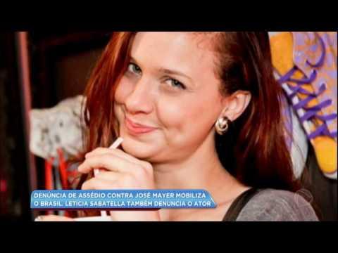 Letícia Sabatella também denuncia agressão de José Mayer