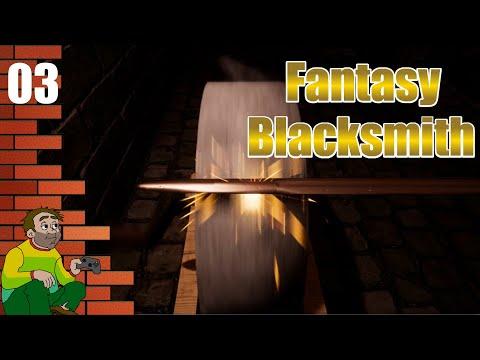 Fantasy Blacksmith - Crafting Magic Blades |