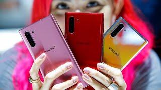 """سامسونغ تشعل فتيل حرب الهواتف الذكية بهاتفها الجديد """"نوت 10""""…"""